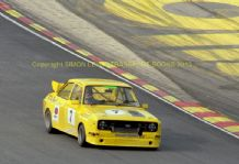 "Ford Escort Mk2 Thundersaloon Ward/Dickson  Brands Hatch 1987 7x5"" photo"